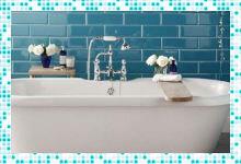 Особенности декорирования ванной комнаты и туалета — делаем санузел как на картинке