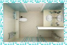 Делаем маленькую ванную комнату комфортной