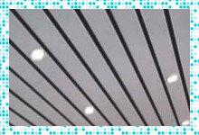 Реечный потолок в ванную комнату