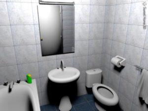 ванная Sweet Home 3D
