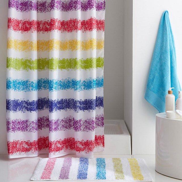 текстиль штора полоска