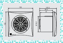 Качественные бесшумные вентиляторы для ванной комнаты
