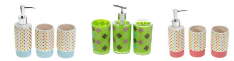 стаканы для ванной