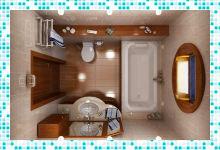Ванна дизайн проекты ванных комнат любого размера