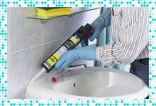 Как выбрать герметик для ванной против плесени?