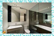 Лучшее решение для зонирования ванной — стеклянные перегородки