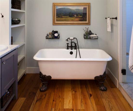водостойкий ламинат ванная комната