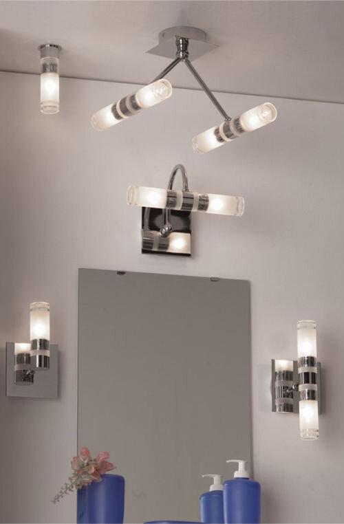 Люстра и светильники для ванной