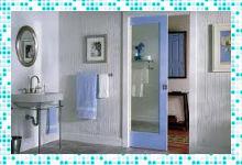 Раздвижные двери для ванной комнаты – универсальное решение для жилых помещений
