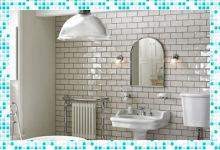 Особенности размеров кафельной плитки для ванной