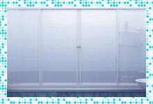 Раздвижные шторы для ванной комнаты – альтернатива душевой кабины