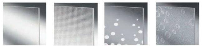 Пример стекол раздвижные шторки