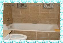 Ремонт и оформление ванной комнаты плиткой