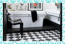 Мечта о черно-белой ванной