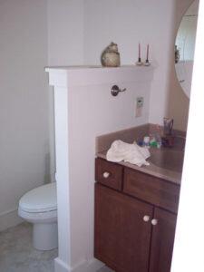 гипсовая перегородка для ванной