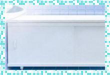 Как выбрать экран под ванну?