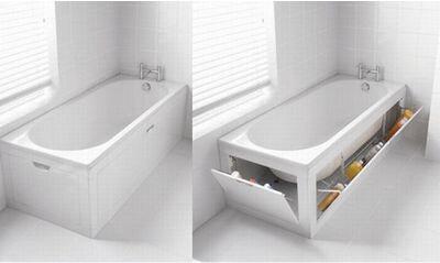 Экран ванна отсек