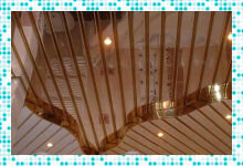 Металлический потолок в ванной — альтернатива стандартным решениям
