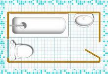 Проект маленькой ванной комнаты — советы специалистов