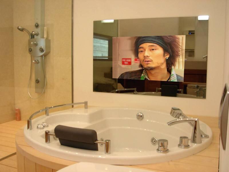 телевизор-зеркало ванная