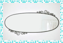 Выбор зеркал для ванной от компании Икеа